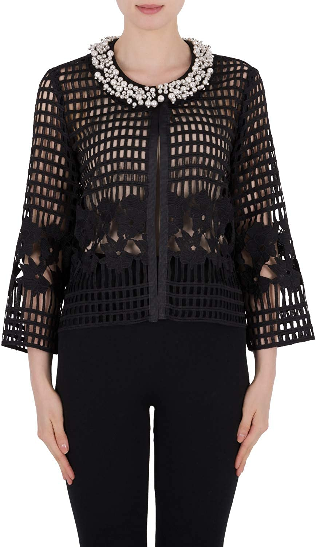 Joseph Ribkoff Women's Jacket Style 191528 Black