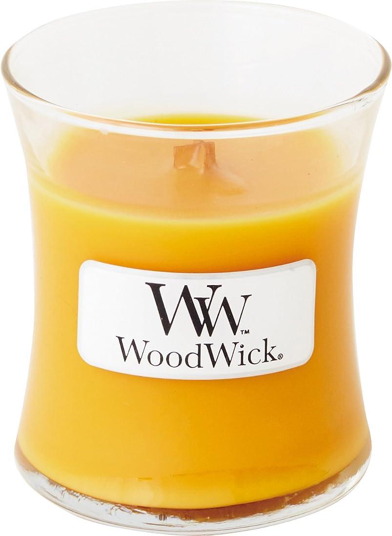 リングレットスライス同一のWood Wick ウッドウィック ジャーキャンドルSサイズ スパークリングオレンジ