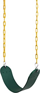 "REEHUT Swing Seat Heavy Duty with 66"" Chain Plastic Coated, Swing Set Accessories.."
