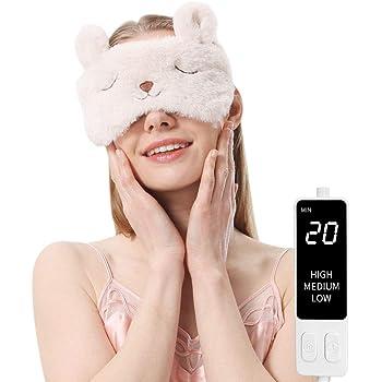 ホットアイマスク 蒸気でホットアイマスク 繰り返し かわいい 誕生日プレゼント ギフトケース(ウサギ)