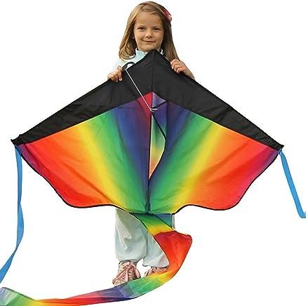 Kite Cometa Gigante a la Venta – Flota en la Brisa – Velas perfectas para niños, fácil de Volar – liviano y Estable   100% garantía de devolución de Dinero