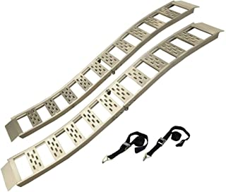 CARGOSMART 3018 L Aluminum Folding S-Curve Ramp, 2 Pack