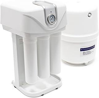 Naturewater NW-RO50-C01 Equipo de osmosis inversa (RO) 5-Etapas 180l/día con bomba y manómetro