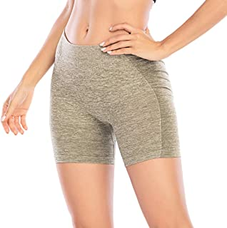 Manufacture Workout Shorts for Women High Waisted Seamless Yoga Running Biker Athletic Tummy Control Shorts