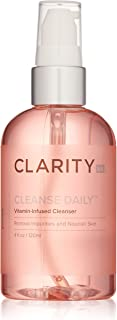 ClarityRx Cleanse Daily Vitamin Infused Facial Cleanser - Gentle Face Wash Ideal for Daily Use and Sensitive Skin