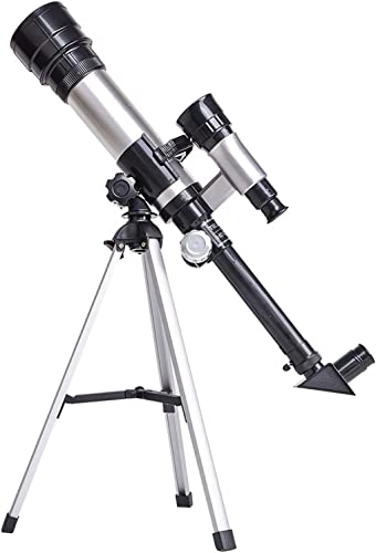 lowest OPTIMISTIC Telescope for Adults & Beginners, 50mm 60X Coated Optics Refracting Telescope with Adjustable online Tripod, Eyepieces wholesale and Finder Scope Included, Monocular Astronomical Lunar Telescope for Kids sale