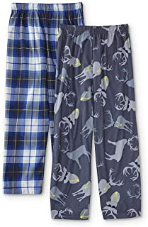 Joe Boxer Boys  2-Pack Christmas Pajama Pants - Plaid   Ninja Breadman XL 94436adad