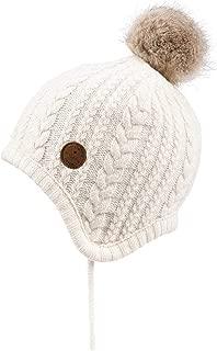 girls cream hat