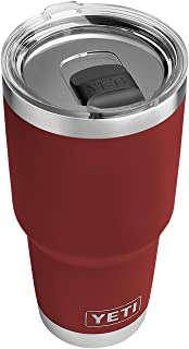 YETI Rambler 30 oz Stainless Steel Vacuum Insulated Tumbler w/MagSlider Lid, Brick Red
