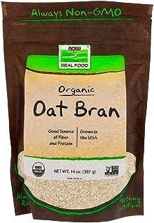 Now Foods Real Food Organic Oat Bran - 397 g