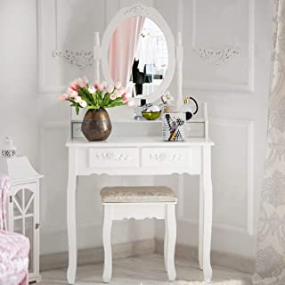 Best small antique dressing table Reviews