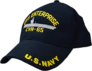 USS Enterprise CVN-65 Low Profile Cap Navy Blue