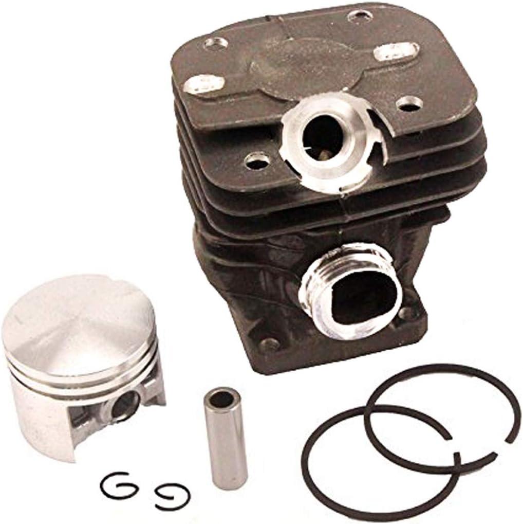 Hippotech Pistón de Cilindro de 42 mm con Anillo de Pasador y Anillo de retención para Motosierra Stihl 024 MS240 reemplaza OEM 1121 020 1200