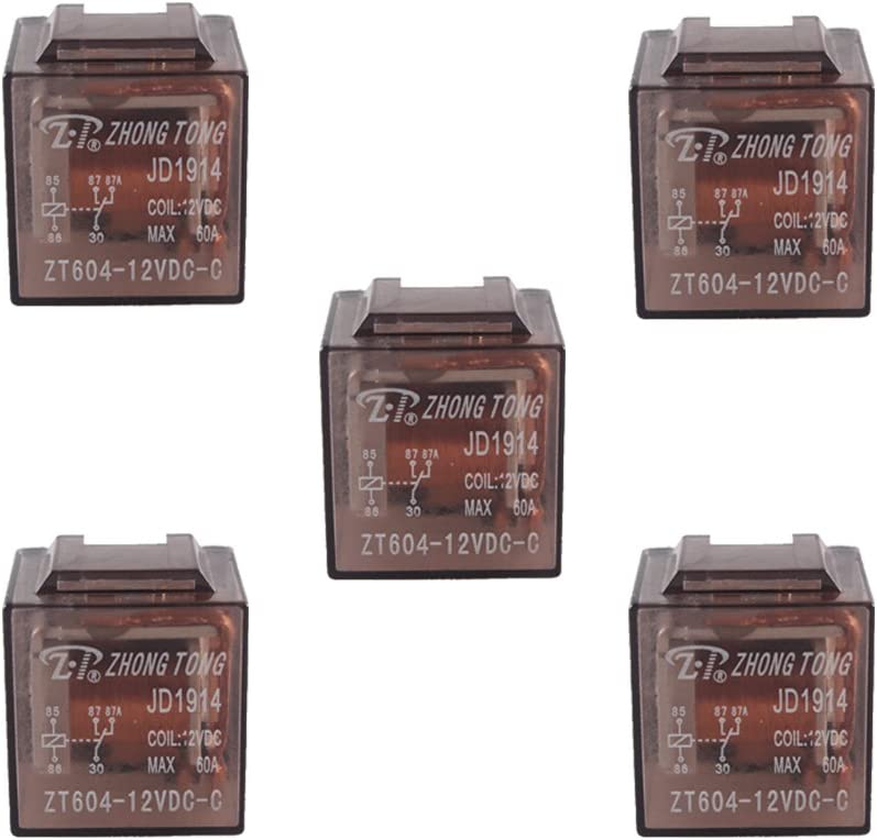 Clearance SALE Limited Max 57% OFF time ESUPPORT Car Truck Auto 12V 60A 60 AMP 5 SPDT Pin P Relay Relays