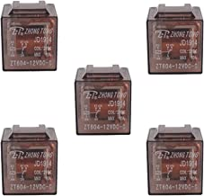 ESUPPORT Car Truck Auto 12V 60A 60 AMP SPDT Relay Relays 5 Pin Pack of 5