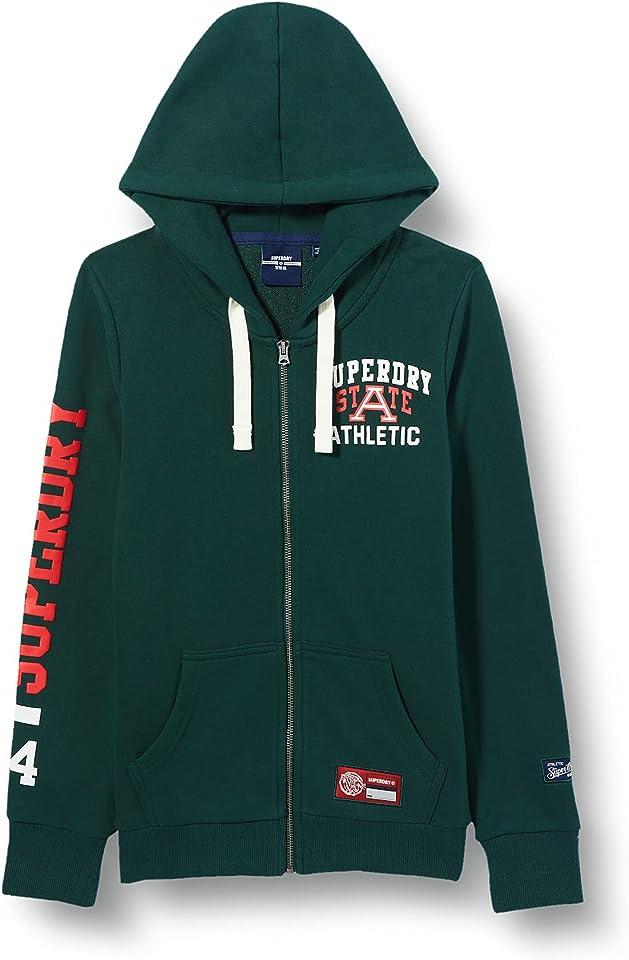 Women's Collegiate Athletic Ub Ziphood Hooded Sweatshirt