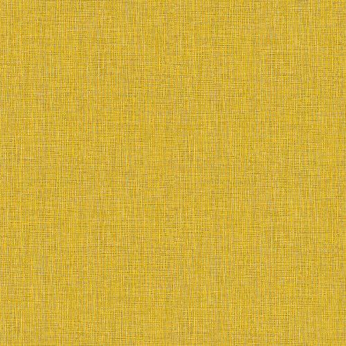 Vliestapete Tapete einfarbig Tapete uni Badezimmer-Tapete 369762 36976-2 Architects Paper Absolutely Chic | Braun Gelb Grau | Muster (21 x 29,7 cm)