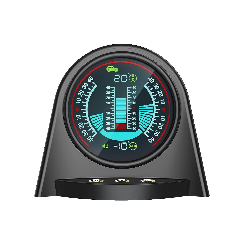X94 - Medidor digital de inclinación para coche, accesorio para todoterreno, alarma de seguridad, 4 x 4