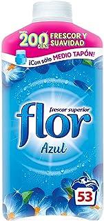 comprar comparacion Flor - Suavizante para la ropa concentrado, aroma azul - 53 dosis (3048325)