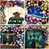 [Upgraded Metallic Balloons KIT] HiParty 60pcs Metallic Party Balloons, 3D Premium Thick Chrome Latex Birthday Balloons with accessories for Wedding Christmas and almost Party Decorations (6 Colors) #5