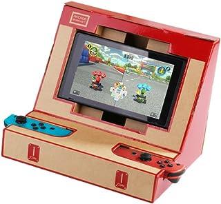 Goolsky LABO NS スイッチ ケース DIY カードボード アーケード ブラケット ダンボールカートン ゲームセット 任天堂スイッチ ニンテンドー用 Nintendo Switch用