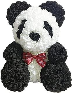 PE Flower Rose Bear PE Flower Little Panda Eternal Flower Doll Bear Bear Doll Valentine's Day Gift Sacred Gift