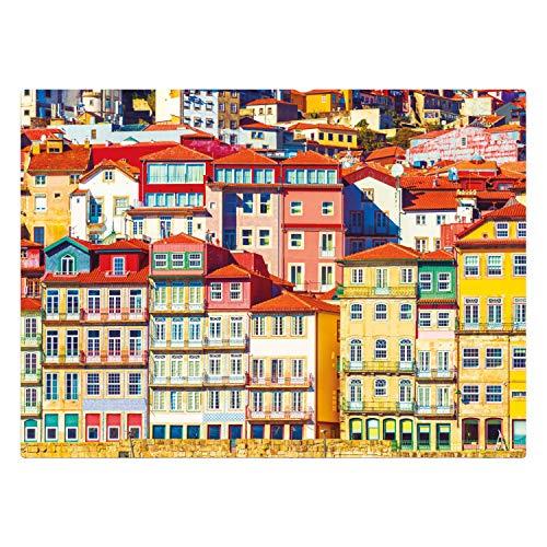 Cores de Porto - Quebra Cabeça 1000 peças - Exclusivo Amazon