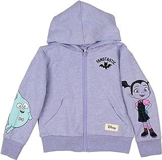 Seven Times Six Disney Vampirina Toddler Girls' Hoodie Fangtastic Full Zip