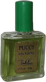 Pucci Eau Fraiche by Emilio Pucci Women Perfume .33 Oz Miniature Collectible