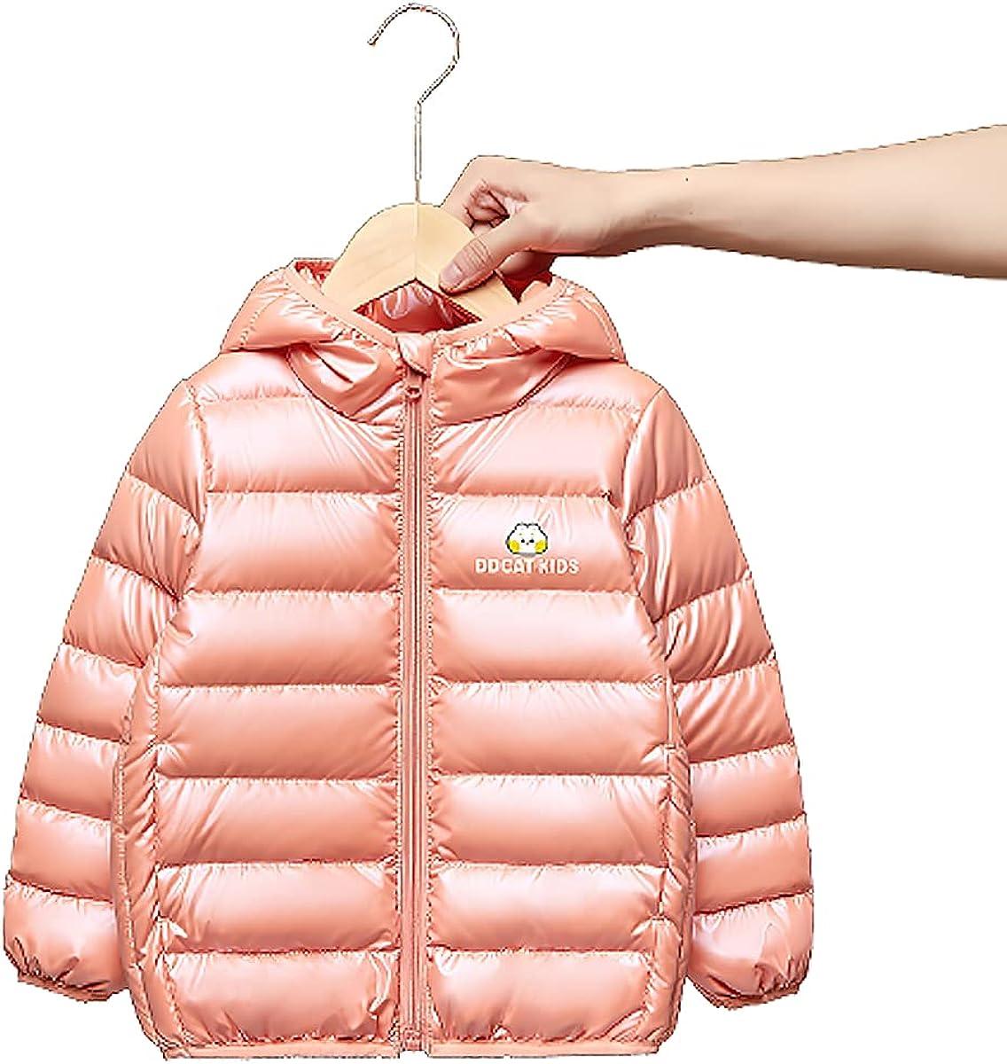 Children'S Warm Jacket Winter Lightweight Down Cotton Cartoon Padded Parka Coat