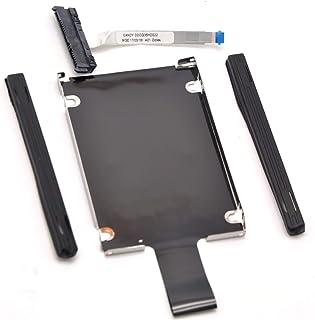 Deal4GO SATA Hard Driver HDD Caddy Bracket + Rubber Rail & Connector Cable for HP Omen 15-AX 15-AX016TX 15-AX218TX 15-AX256TX 15-AX240TX CF1015CL DDOG35HD022