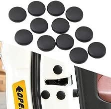 12pcs Car Door Lock Screw Protector Cover for SsangYong Actyon Turismo Rodius Rexton Korando Kyron Musso Sports,Auto Accessories