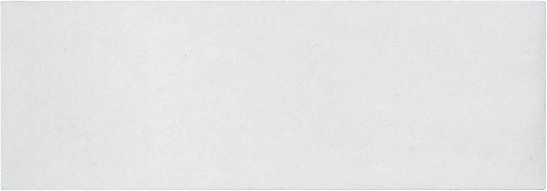 Modern 3x9 White Rectangular Outlet sale feature Stone Tile Ba Mosaic Marble Kitchen trust