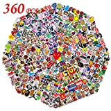 Q-Window Sticker Pack (360-tlg) Vinyl Kawaii Sticker Aufkleber für...