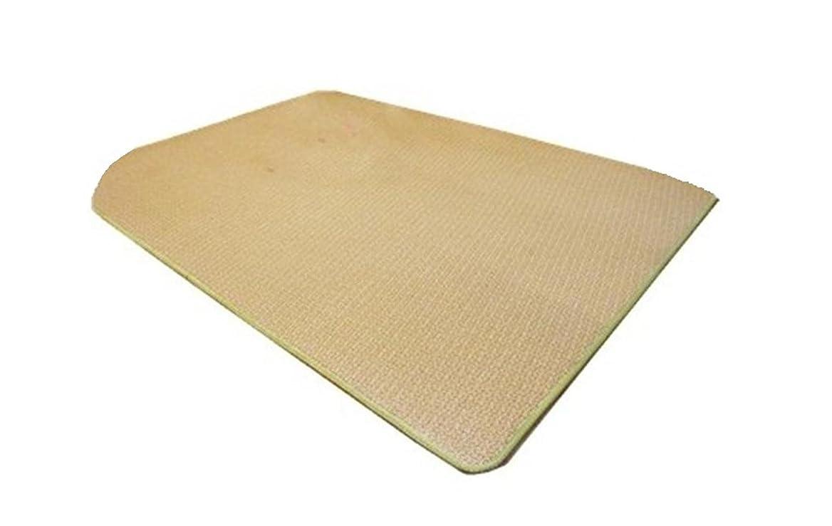 専門化する正当化するするAmmon Lowen ラグ 夏 竹ラグ ベッド ストローマット 竹カーペット竹製 滑り止め付き 折り 涼感 天然素材 が, 枕カバー付き (200x240cm)