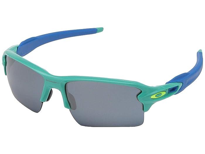 Oakley Flak 2.0 XL (Celeste) Sport Sunglasses