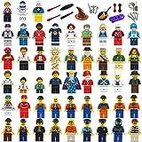 ミニフィギュア ミニフィグ 職業 48体+26小道具セット レゴ対応 互換