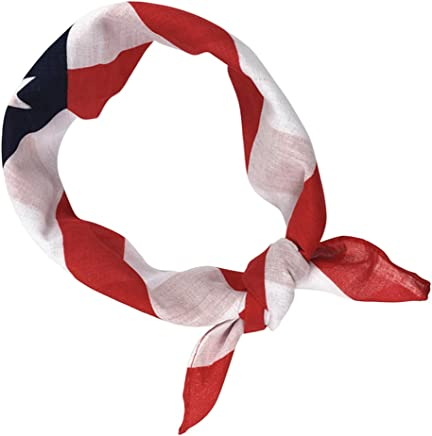 BinaryABC 4th of July American Flag Bandana Headband,Patriotic Headband,Independence Day Fourth of July Decorations