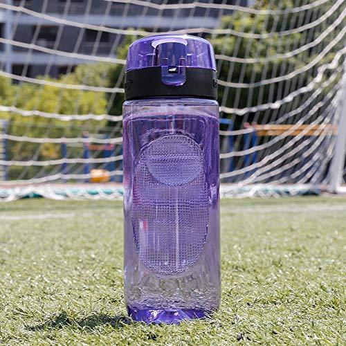 DUOGE Filtro per Tazza d'Acqua in plastica Tazza per Acqua per Bambini Bottiglia per Acqua Portatile Pratica Tazza per Tazza Scuola di Sport all'Aria Aperta