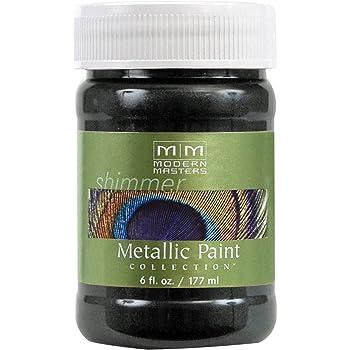 Modern Masters ME700-06 Metallic Black Pearl, 6-Ounce