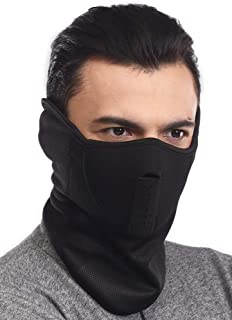 Half Face Ski Mask for Cold Weather - Half Balaclava Face...