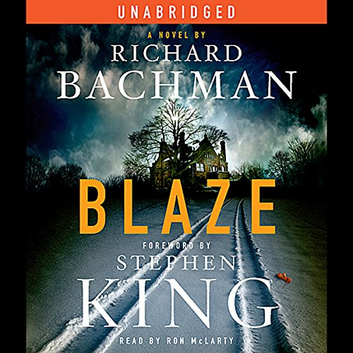 Blaze audiobook cover art