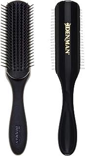 Denman 7 Row Styling Brush, Black, 3.2 Ounce