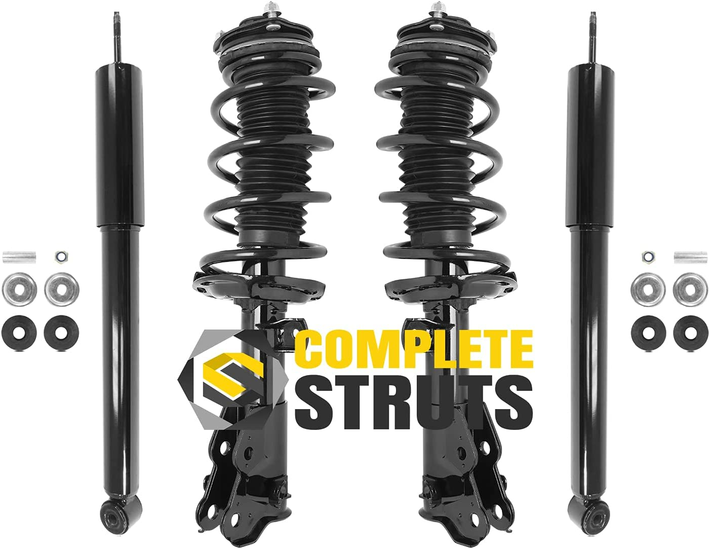 COMPLETESTRUTS - Front Cheap sale Complete Strut with Weekly update Assemblies Sprin Coil