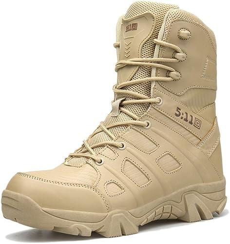 Hauts De Combat Bottes De Combat Chaussures De Randonnée Armée Militaire Bottes D'entraîneHommest Bottes Tactiques pour Hommes Extérieur