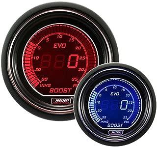 Boost Gauge- Electrical Red & Blue EVO Series 52mm (2 1/16