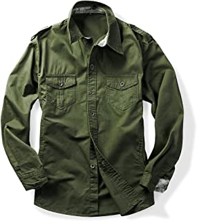 Best army green chambray shirt Reviews