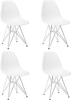 GrandCA Conjunto de 4 sillas, Modernas de Estilo sillas de