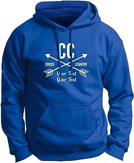 Personalized Cross Country Team Your School Name Premium Hoodie Sweatshirt