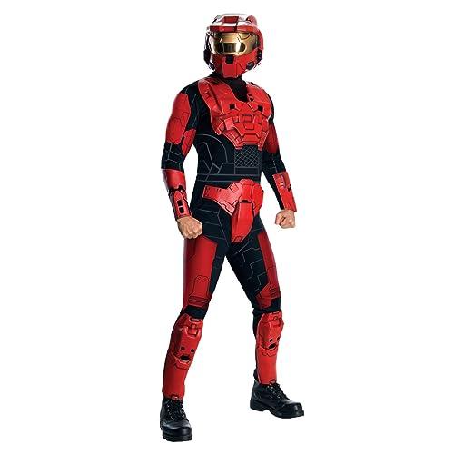 Amazon.com: Halo Deluxe Spartan Costume: Clothing